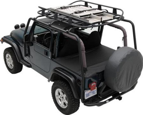 Smittybilt Roll Bar Mount First Aid Storage Bag Black 769541