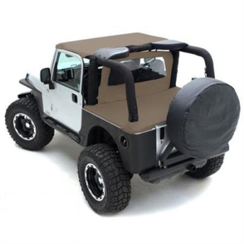 Smittybilt GEAR Seat Covers 03-06 Wrangler TJ, LJ Front Custom Fit Black 56647501