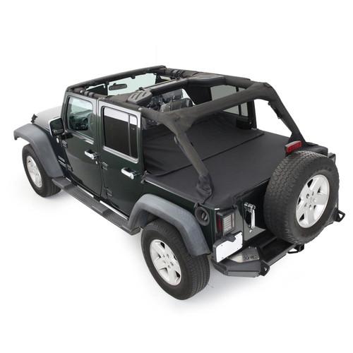 Smittybilt GEAR Seat Covers 07-12 Wrangler JK 2/4 DR Front Custom Fit Black 56647801