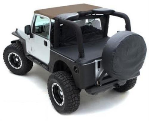 Smittybilt Gear Seat Cover 76-16 Wrangler CJ/YJ/TJ/LJ/JK Front Black 5661001
