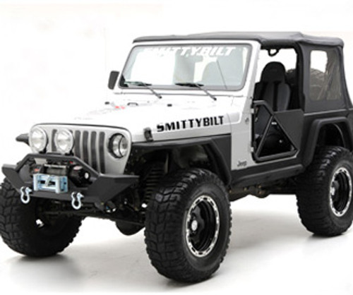 Smittybilt TR-9 LED Flashlight 1K Lumens Rechargable Li-ion Battery Aluminum Black L-1406