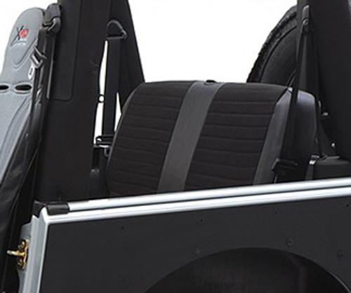 Smittybilt Jeep Tubular Doors Rear 18-Present Jeep JL Wrangler 4 Door Steel Black Powdercoat 77795