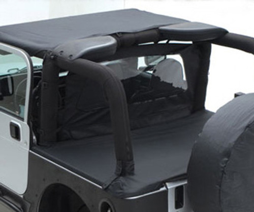 Smittybilt Jeep JK Rock Slider 07-18 Wrangler JK 2 Door Atlas XRC 1.75 Inch Over Rider Tube Light Texture Black Powdercoat 76897LT