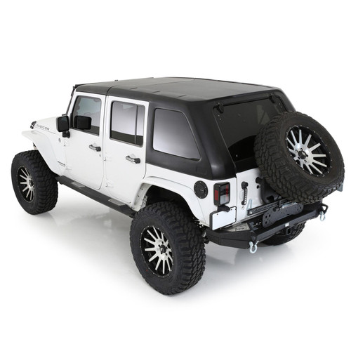Smittybilt Jeep JL Cab Cover w/Door Flaps Water-Resistant Gray 2018-Present Wrangler JL 4-Door Each 1071