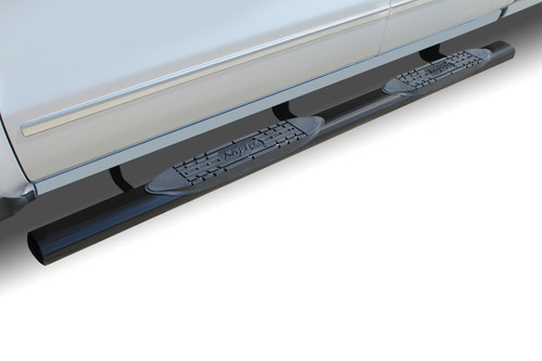 Raptor Series 00-06 Toyota Tundra Extended Cab/Access Cab 4 Inch Black Oval Step Bars 0704-0247B