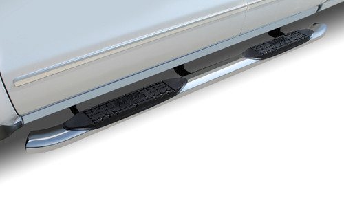 Raptor Series 00-06 Toyota Tundra Extended Cab/Access Cab 4 Inch OE Style Curved Stainless Steel Oval Step Bars 1504-0247