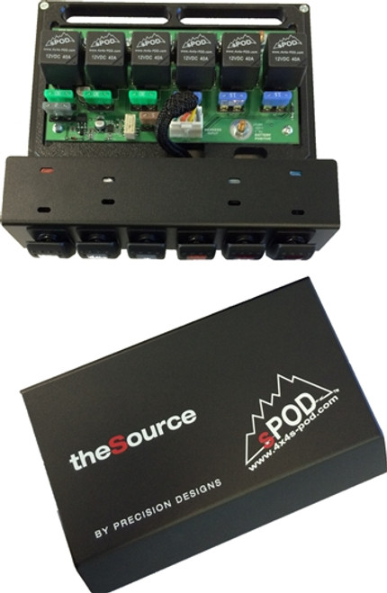 sPOD 6 Circuit Power Distribution System Self Contained SCS