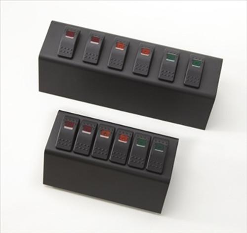 sPOD JK 7 Inch Mini 6 Switch Panel 07-08 Wrangler JK W/Mini Bezel Multi Color 600-MINI-07