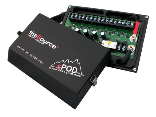 sPOD Add-On  SE Source w/ 84 Inch Battery Cables 8-700-SE84