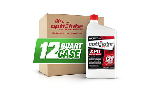 Opti-Lube XPD Diesel Fuel Additives (RED) Quart 32 oz, Case of 12