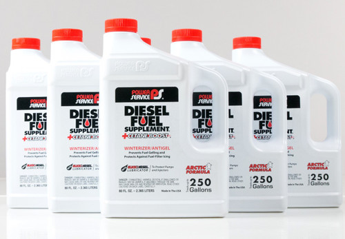 Power Service Diesel Additives DIESEL FUEL SUPPLEMENT +CETANE BOOST 1080 80 oz. (Case of 6)