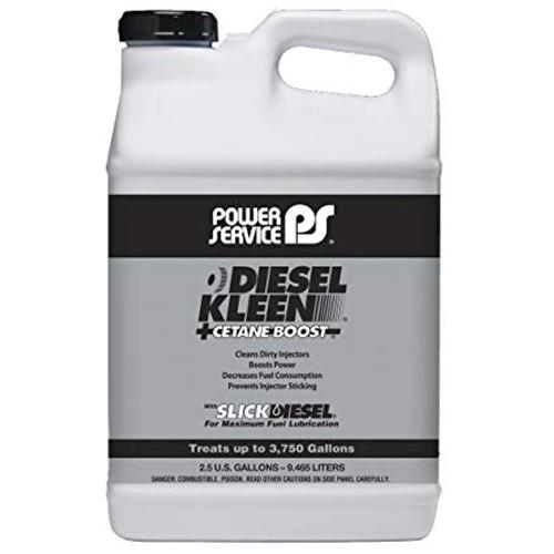 Power Service Diesel Additives DIESEL KLEEN +CETANE BOOST 2.5 Gallon Jugs 3850 Set of 2