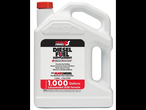 Power Service Diesel Additives DIESEL FUEL SUPPLEMENT +CETANE BOOST 1128