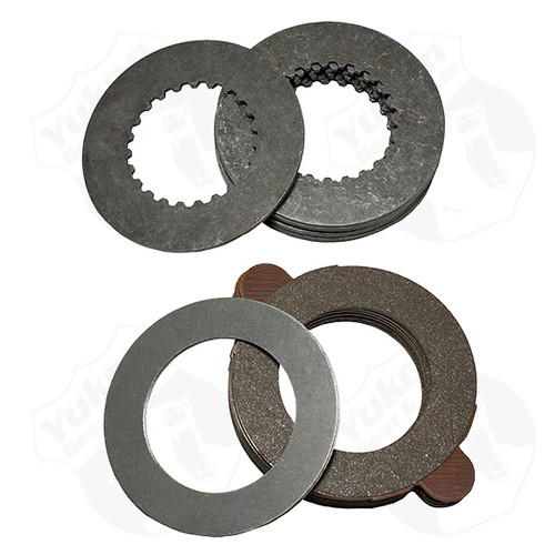 Yukon Gear & Axle 8.25 Inch Chrysler Model 35 D36 ICA And Dana 28 Tracloc Clutch Set Yukon YPKC8.25-PC-T/L