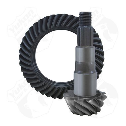 Yukon Gear & Axle High Performance Yukon Replacement Ring And Pinion Gear Set For Dana 30HD In Jeep Liberty 4.10 Ratio Yukon YG D30HD-410L