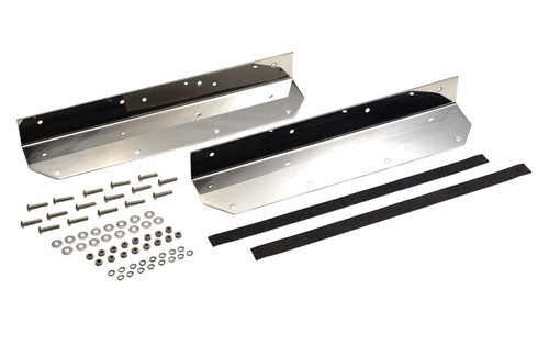 Kentrol Jeep YJ Step Cover Inlay Pair 87-95 Wrangler TJ Polished Silver 30447