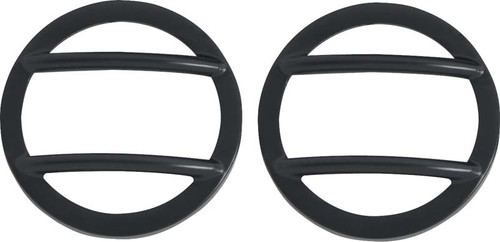 Kentrol Jeep JK Side Marker Covers Pair 07-18 Wrangler JK Powdercoat Black 50008