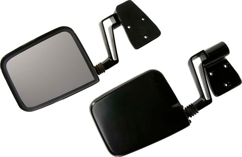 Kentrol Jeep YJ/TJ Mirror Kit Pair 88-06 Wrangler YJ/TJ Powdercoat Black 50475