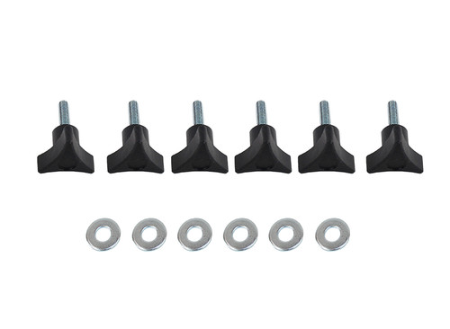 Kentrol Jeep TJ Unlimited LJ Hardtop Screws 04-06 Wrangler TJ Unlimited Textured Black 70008