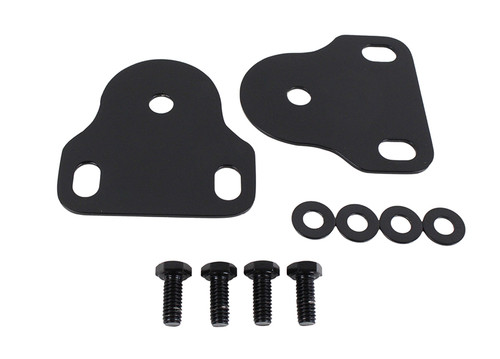 Kentrol Jeep CJ/YJ Interior Windshield Brackets Pair 76-95 CJ and Wrangler YJ Powdercoat Black 50408