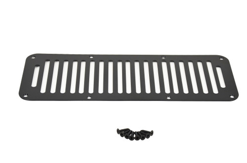 Kentrol Jeep YJ Hood Vent 8 Holes 87-95 Wrangler TJ Powdercoat Black 50458