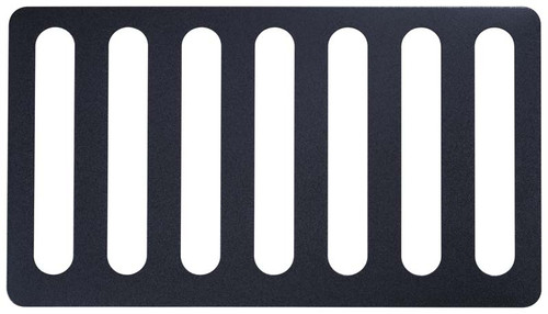 Kentrol Jeep CJ5 Hood Vent 55-77 CJ5 Powdercoat Black 80583