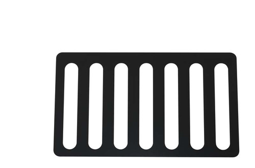 Kentrol Jeep JK Hood Vent 07-18 Wrangler JK Powdercoat Black 50583