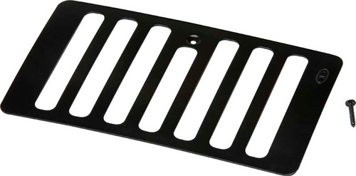 Kentrol Jeep TJ Hood Vent 98-06 Wrangler TJ Powdercoat Black 50500