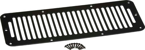 Kentrol Jeep CJ Hood Vent 78-86 CJ Powdercoat Black 50406