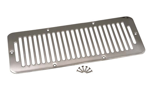 Kentrol Jeep CJ Hood Vent 78-86 CJ Polished Silver 30406