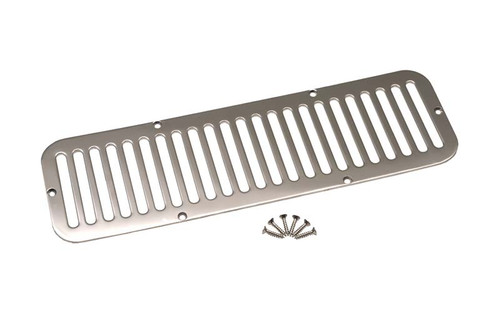 Kentrol Jeep CJ5 Hood Vent 55-77 CJ5 Polished Silver 30405