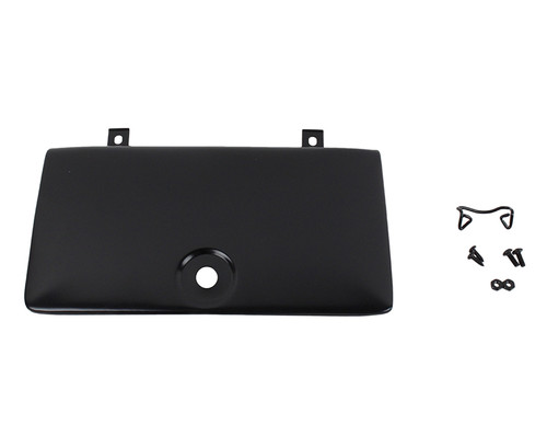 Kentrol Jeep CJ Glove Box Door Use with OE Key Lock 72-86 CJ Powdercoat Black 50526