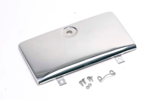 Kentrol Jeep CJ Glove Box Door Use with OE Key Lock 72-86 CJ Polished Silver 30526
