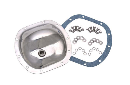 Kentrol Jeep CJ Front Differential Cover 41-86 CJ Polished Silver 304M30