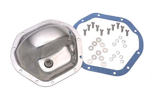 Kentrol Jeep CJ Front and Rear Differential Cover Model 44 45-75 CJ 86 CJ7 Polished Silver 304M44