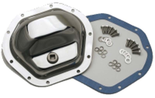 Kentrol Jeep TJ Front and Rear Differential Cover 97-06 Wrangler TJ Polished Silver 304CM44