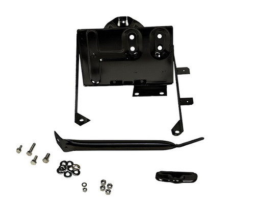 Kentrol Jeep CJ Battery Tray with support arm 76-86 CJ Powdercoat Black 50498