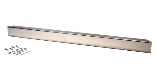 Kentrol Jeep CJ 54 Inch Front Bumper Without holes (No License Plate Holes) 45-86 CJ Polished Silver 30430WH