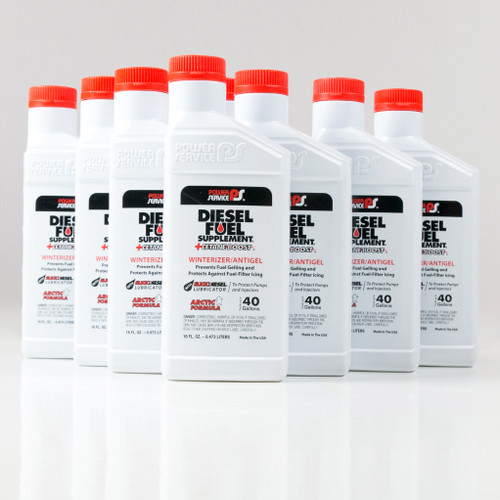 Power Service Diesel Additives DIESEL FUEL SUPPLEMENT +CETANE BOOST 16 oz 1016-09 (Case of 9)