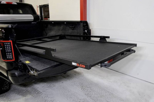 BedSlide Classic 58 Inch x 39 Inch Black 5 Foot Toyota Tacoma/5.1 Foot Chevy Colorado/Canyon 10-5839-CLB