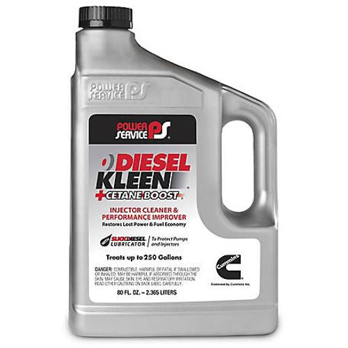 Power Service Diesel Additives DIESEL KLEEN +CETANE BOOST 80 oz, 3080 1 Jug