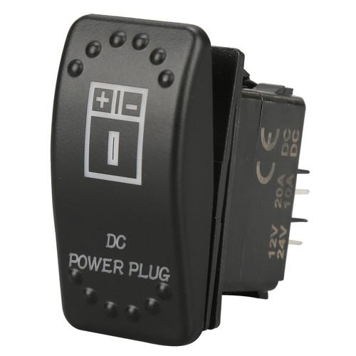 Bulldog Winch Rocker Switch DC Power Plug 20319