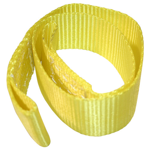 Bulldog Winch Strap Replacement for 15021 Yellow 20225