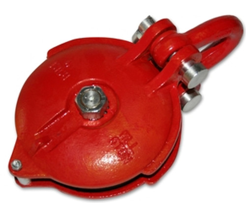 Bulldog Winch Snatch Block 32k BS 16k WLL 8 Inch Wheel Zerk 20077