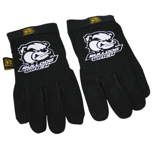 Bulldog Winch Trail Glove XL Black Form Fit W/Synthetic Leather Palm 20070