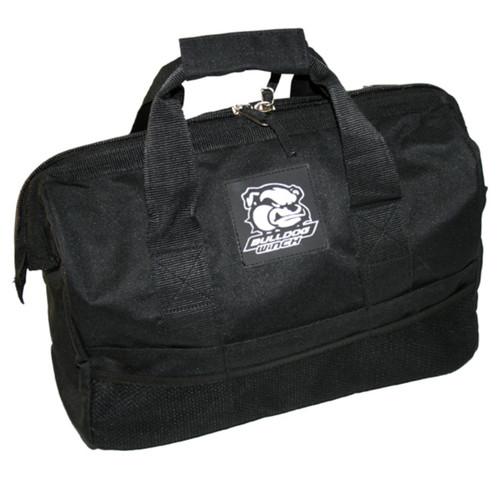 Bulldog Winch Rigging Bag Heavy Duty Large Mouth W/100lb Capacity Black 20058