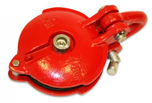 Bulldog Winch Snatch Block 24k BS 9k WLL 5 Inch Wheel Zerk 20027