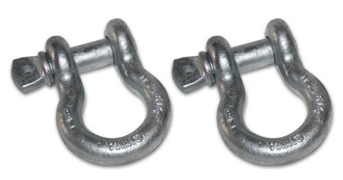 Bulldog Winch 7/8 Inch Bow Shackle 13k LB WLL Silver 20021