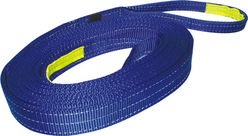 Bulldog Winch Recovery Strap 2 Inch x 30 Foot 20 000 LB BS Polyester Blue 20014