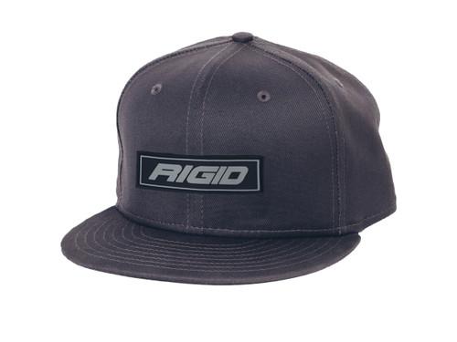 Rigid Industries Flat Bill Hat Embossed Gray RIGID Industries RIGID Industries 1032